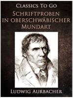 Schriftproben in oberschwäbischer Mundart