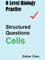 O Level Biology Practice For Structured Questions Cells
