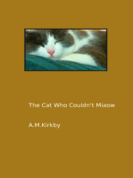 The Cat Who Couldn't Miaow
