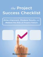 The Project Success Checklist