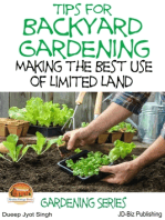 Tips for Backyard Gardening
