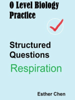 O Level Biology Practice For Structured Questions Respiration