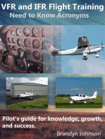 VFR and IFR Flight Training: Need to Know Acronyms