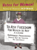 Stories of Women's Suffrage