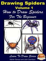 Drawing Spiders Volume 1