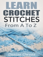 Learn Crochet Stitches