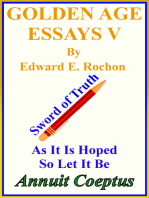 Golden Age Essays V