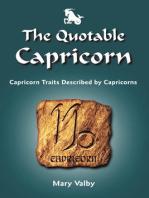 The Quotable Capricorn