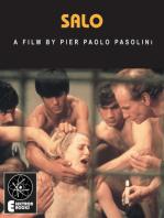 Salo: A Film By Pier Paolo Pasolini