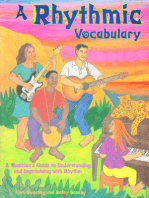 A Rhythmic Vocabulary: A Musician's Guide to Understanding and Improvising with Rhythm