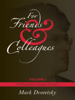 For Friends & Colleagues: Volume 1: Profession - Chess Coach