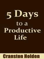 5 Days to a Productive Life