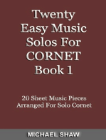 Twenty Easy Music Solos For Cornet Book 1
