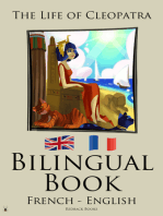 Bilingual Book - The Life of Cleopatra (French - English)