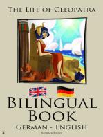 Bilingual Book - The Life of Cleopatra (German - English)