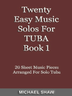 Twenty Easy Music Solos For Tuba Book 1
