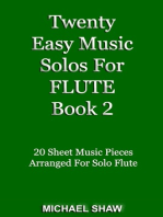 Twenty Easy Music Solos For Flute Book 2