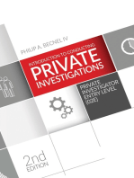 Introduction to Conducting Private Investigations