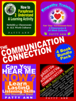 The Communication Connection 4 Book Bundle Includes