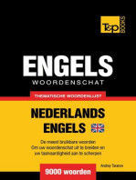 Thematische woordenschat Nederlands-Brits-Engels