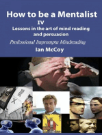 How to be a Mentalist IV
