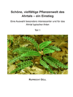 Schöne, vielfältige Pflanzenwelt des Ahrtals - ein Einstieg