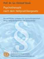Psychotherapie nach dem Heilpraktikergesetz