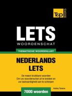 Thematische woordenschat Nederlands-Lets