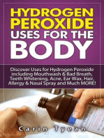 Hydrogen peroxide uses for the body