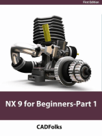 NX 9 for Beginners - Part 1 (Getting Started with NX and Sketch Techniques)