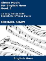 Sheet Music for English Horn