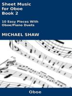 Sheet Music for Oboe