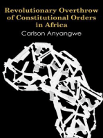 Revolutionary Overthrow of Constitutional Orders in Africa