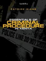 Essentials of Criminal Procedure in Kenya