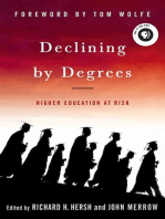 Declining by Degrees