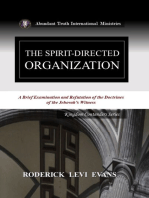 The Spirit-Directed Organization
