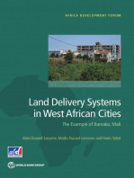 Land Delivery Systems in West African Cities