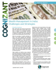 Challenges and Strategies Study on Wealth Management in India