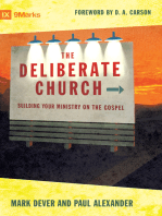 The Deliberate Church