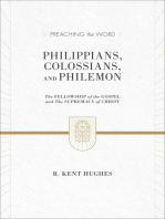 Philippians, Colossians, and Philemon (2 volumes in 1 / ESV Edition)