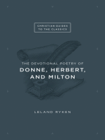 The Devotional Poetry of Donne, Herbert, and Milton
