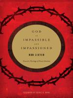 God Is Impassible and Impassioned
