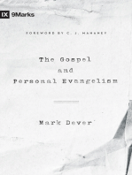 The Gospel and Personal Evangelism (Foreword by C. J. Mahaney)