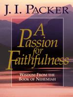A Passion for Faithfulness