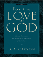For the Love of God (Vol. 1, Trade Paperback)