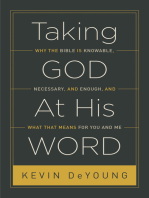 Taking God At His Word