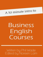 A 10 minute intro to Business English Courses