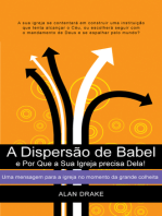 A Dispersão de Babel e Por Que a Sua Igreja precisa Dela!