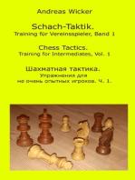 Schach-Taktik. Training für Vereinsspieler, Bd. 1