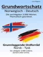 Grundwortschatz Norwegisch – Deutsch